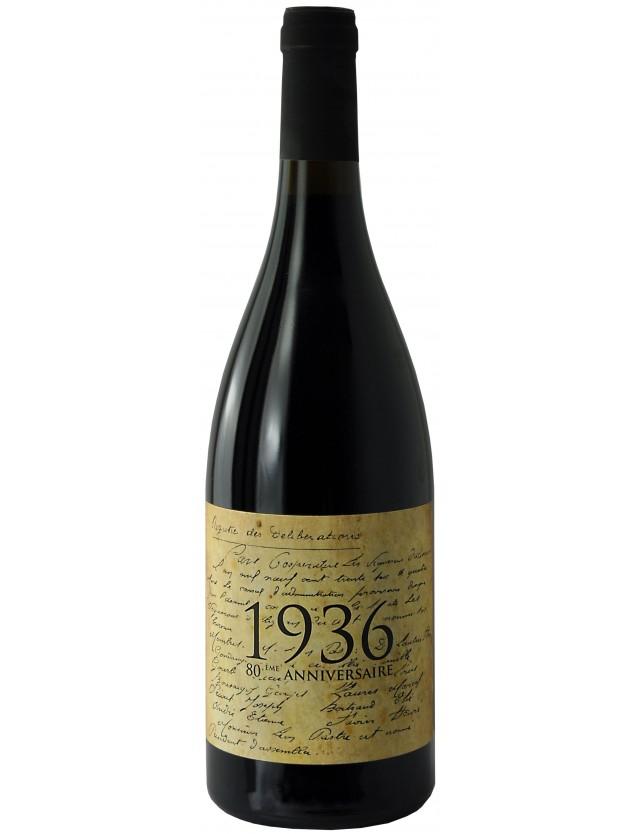 1936 rouge les vignerons d'alignan neffies