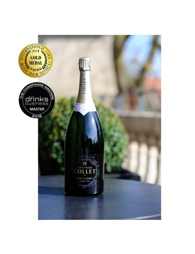Champagne Collet Blanc de Blancs Premier Cru Magnum champagne collet