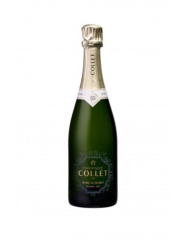 Cuvée Blanc de blancs champagne collet