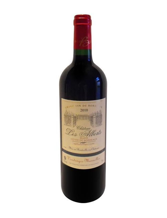 Bordeaux Rouge chateau les alberts