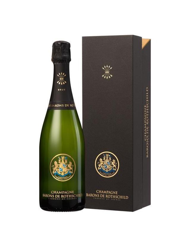CUVEE BRUT AVEC COFFRET champagne barons de rothschild