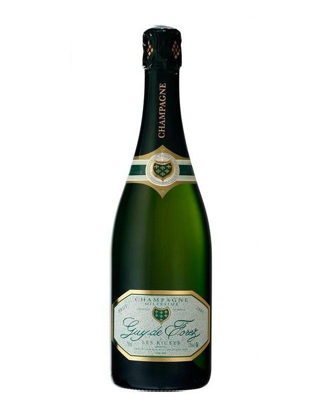 Cuvée Brut Millésimé champagne guy de forez