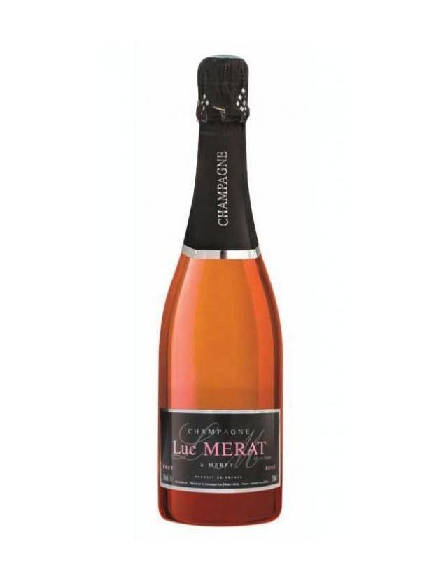 Cuvée Rosé champagne luc merat