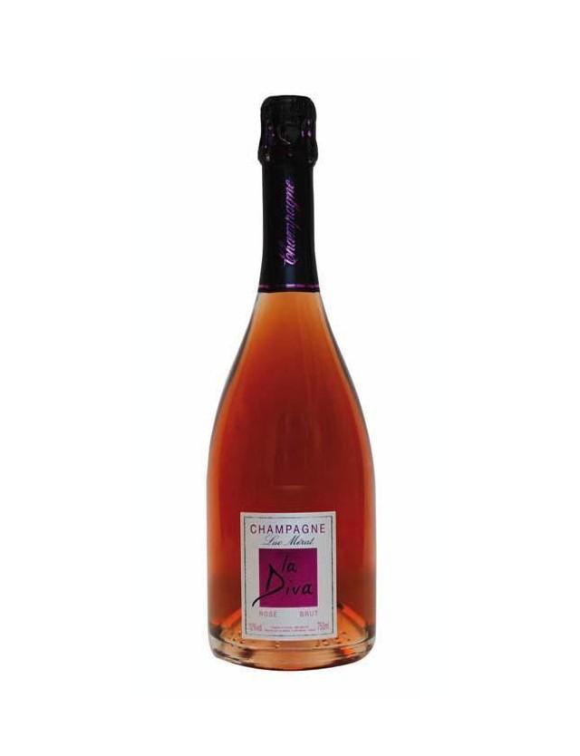 La Diva Rosé CHAMPAGNE LUC MERAT