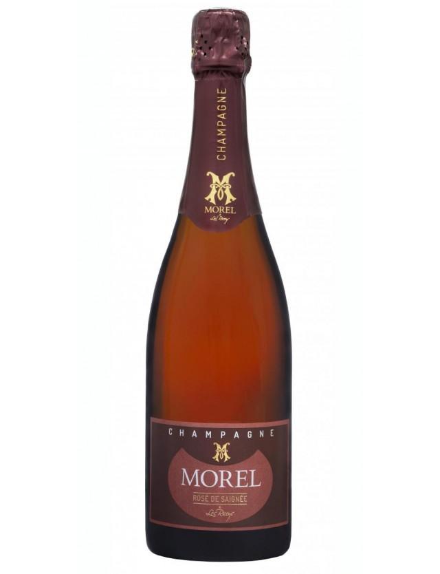 Pur Rosé champagne morel
