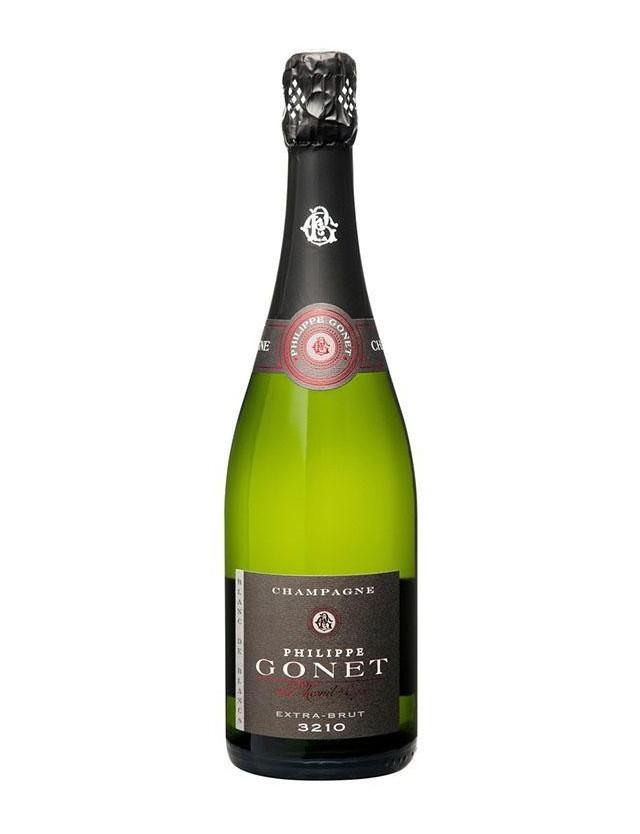 Cuvée EXTRA-BRUT 3210 Blanc de Blancs champagne philippe gonet