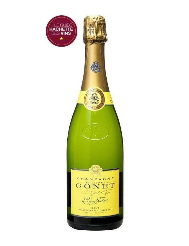 Cuvée Roy Soleil Blanc de Blancs Grand Cru champagne philippe gonet