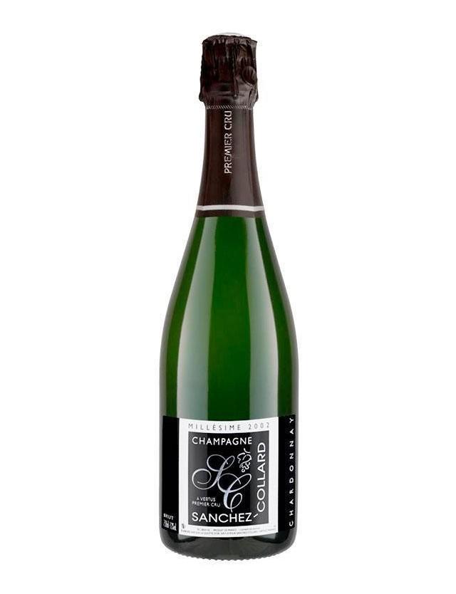 Cuvée BRUT CHARDONNAY MILLESIME 2002 PREMIER CRU CHAMPAGNE SANCHEZ COLLARD