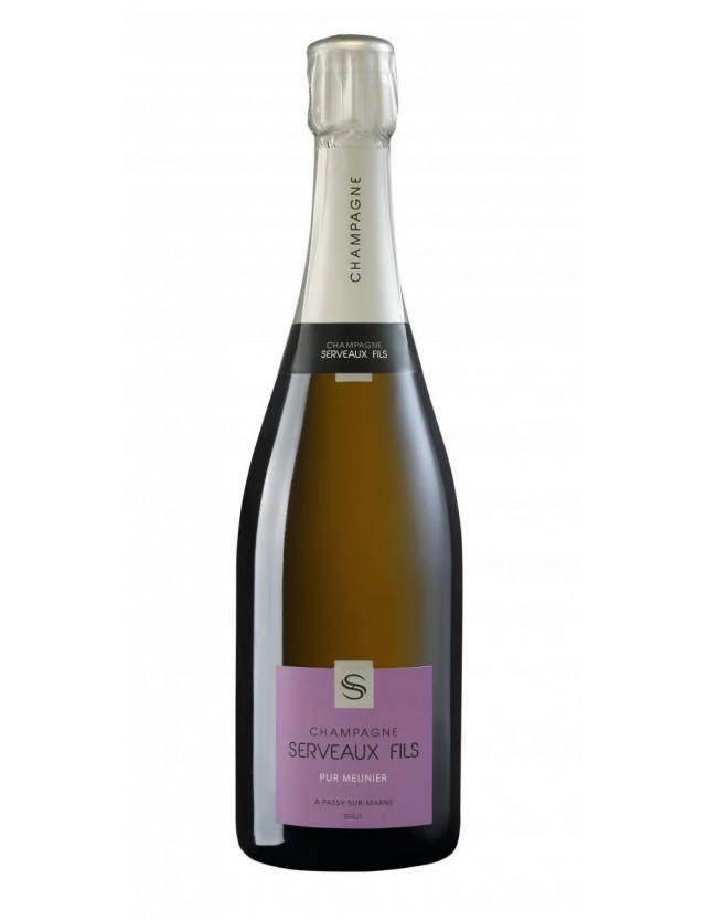 Pur Meunier champagne serveaux fils