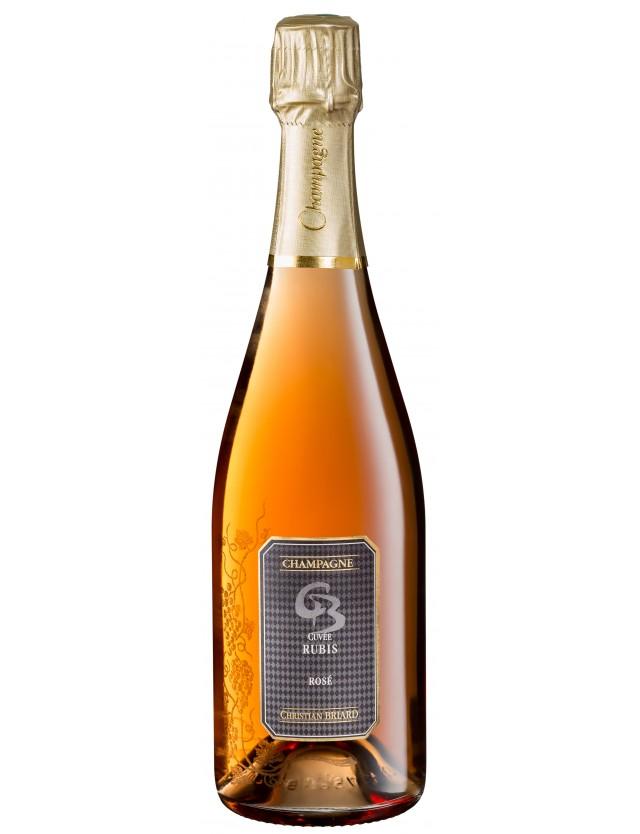 Cuvée Rubis champagne christian briard