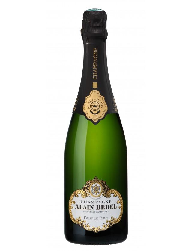 Cuvée Tradition Brut de Brut champagne alain bedel