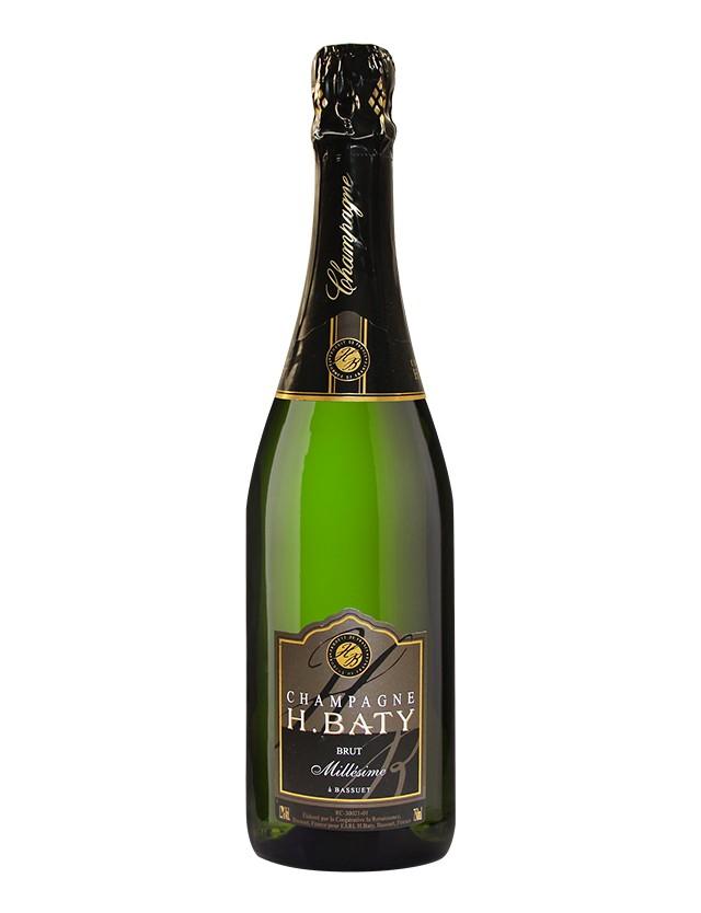 MILLÉSIME 2012 champagne h. baty