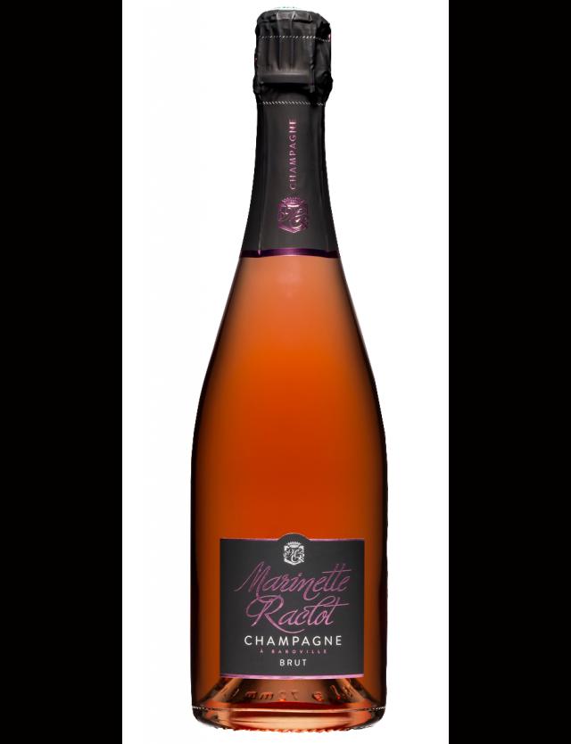 Cuvée brut rosé assemblage Marinette Raclot Champagne