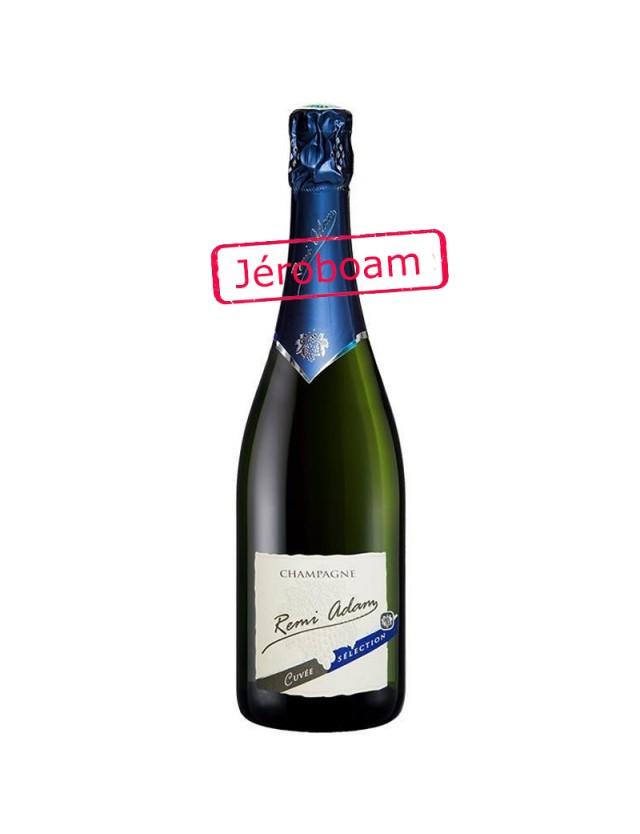 """Cuvée Brut """"Sélection"""" Jéroboam CHAMPAGNE REMI ADAM"""