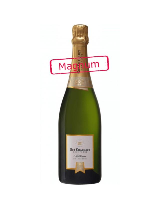 Cuvée Millésime 2008 Brut 1er Cru - Magnum champagne guy charbaut