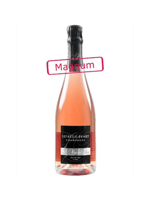 Cuvée La vie en rose magnum CHAMPAGNE LEPREUX PENET