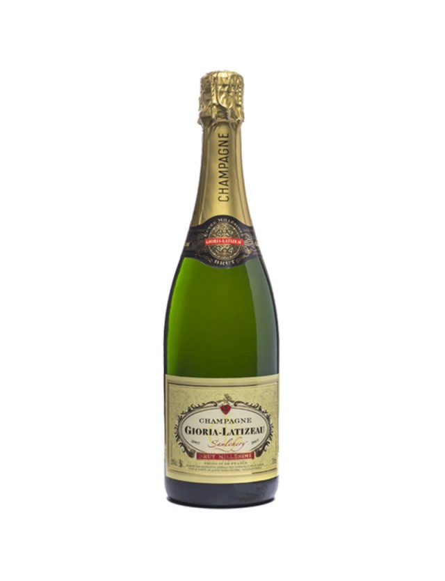 Brut Millésimé champagne gioria latizeau
