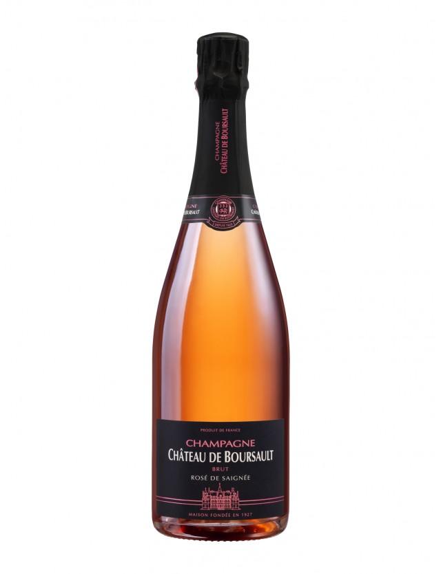 Rosé de Saignée Champagne Château de Boursault