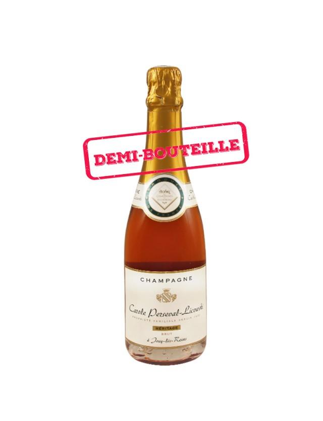 Cuvée Héritage Rosé - Demi Bouteille Champagne Carole Perseval-Licowski