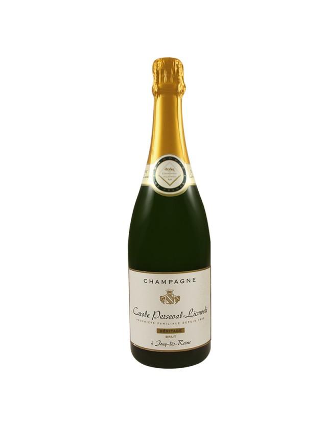 Cuvée Héritage Champagne Carole Perseval-Licowski