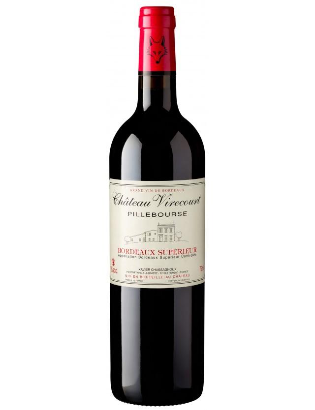 Cuvée Pillebourse château virecourt - vignobles chassagnoux