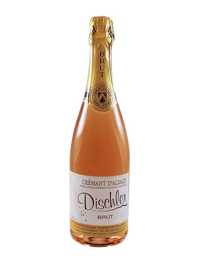 Crémant Rosé Brut Non-millésimé Domaine Dischler