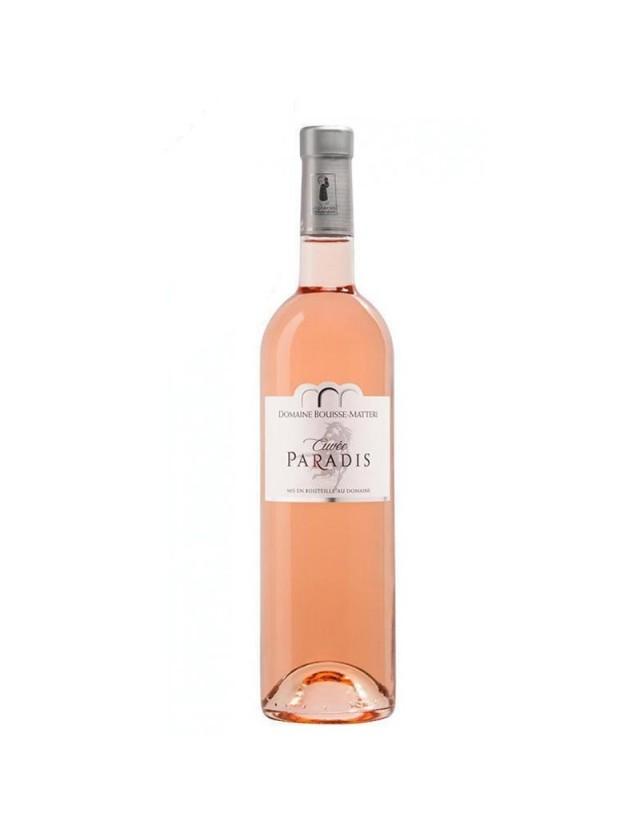 Cuvée du Paradis Rosé DOMAINE BOUISSE-MATTERI