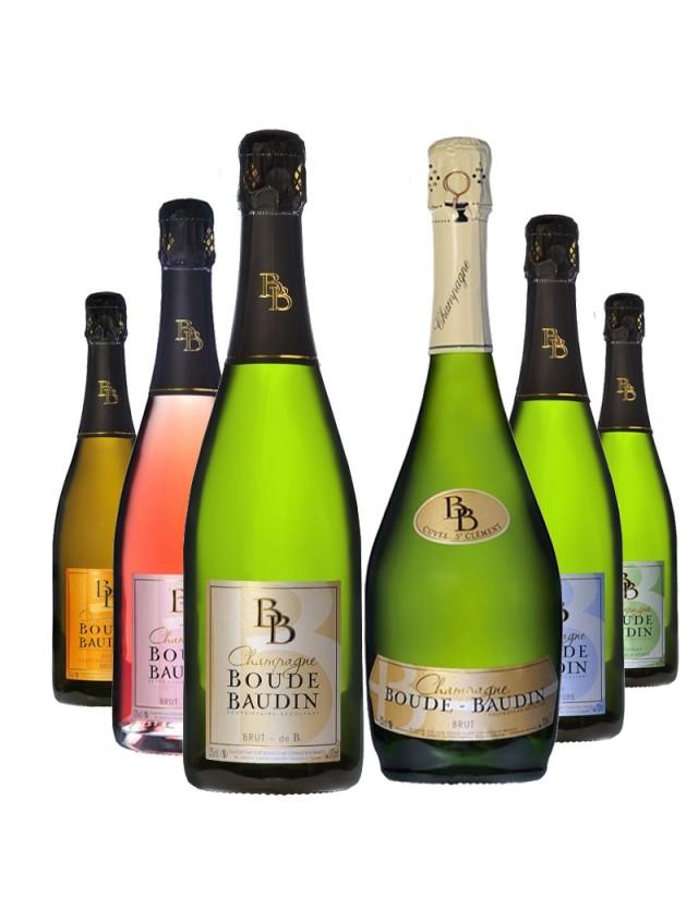 Coffret découverte Boude Baudin champagne boude baudin