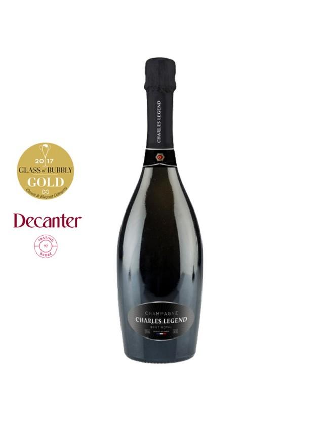 CUVÉE BRUT ROYAL champagne charles legend