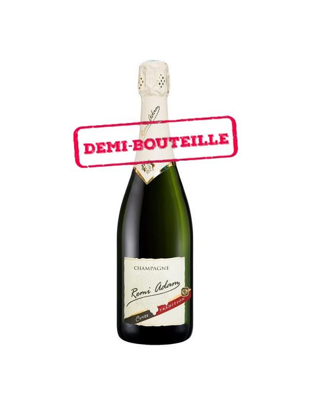 "Cuvée Brut ""Tradition"" demi-bouteille champagne remi adam"