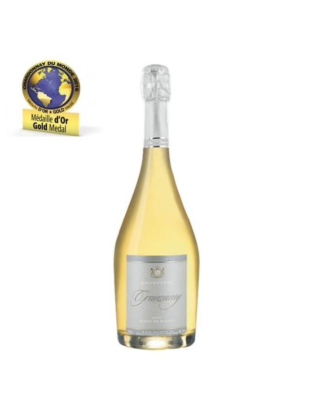 Cuvée Brut Blanc de Blancs champagne granzamy