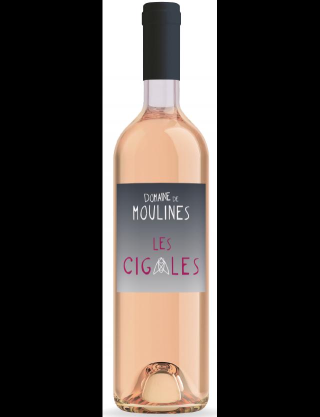Les Cigales Rosé DOMAINE DE MOULINES