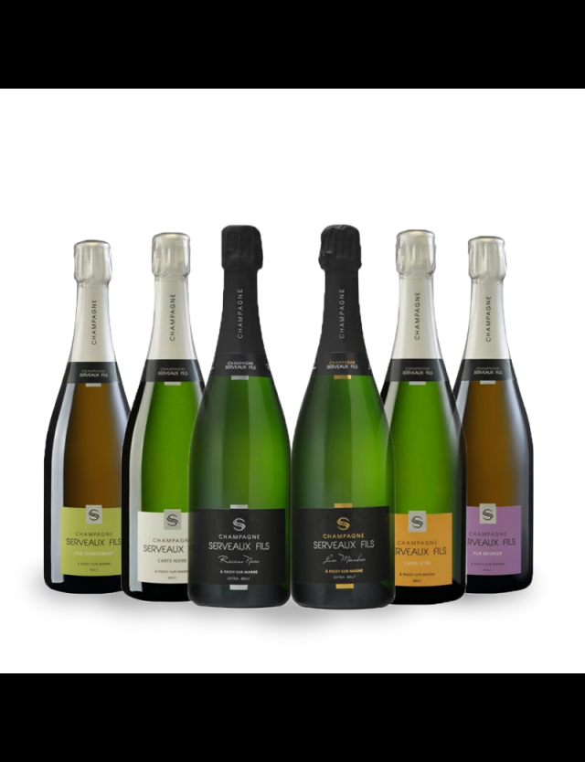 découverte champagne serveaux fils