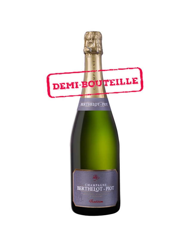 Brut Tradition - demi bouteille Champagne Berthelot-Piot