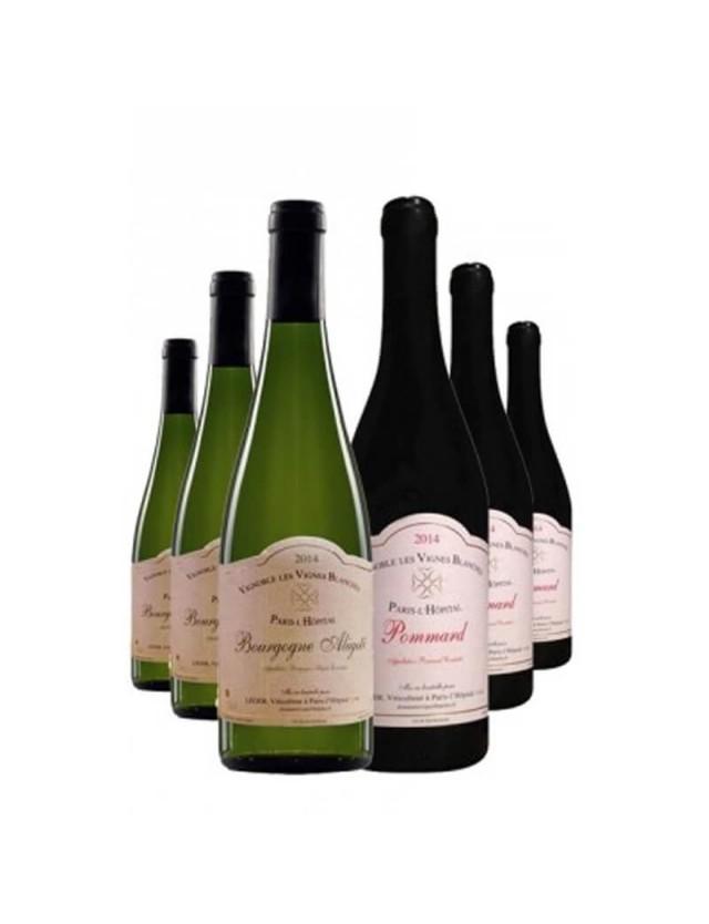 Coffret découverte du Domaine les Vignes Blanches domaine les vignes blanches