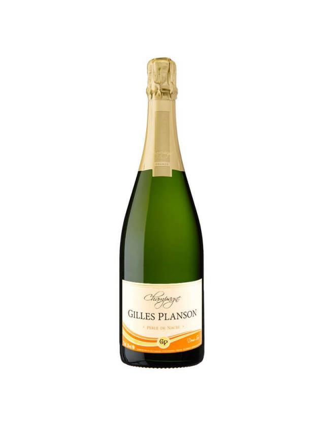 Perle de Nacre Demi-Sec Champagne Gilles Planson