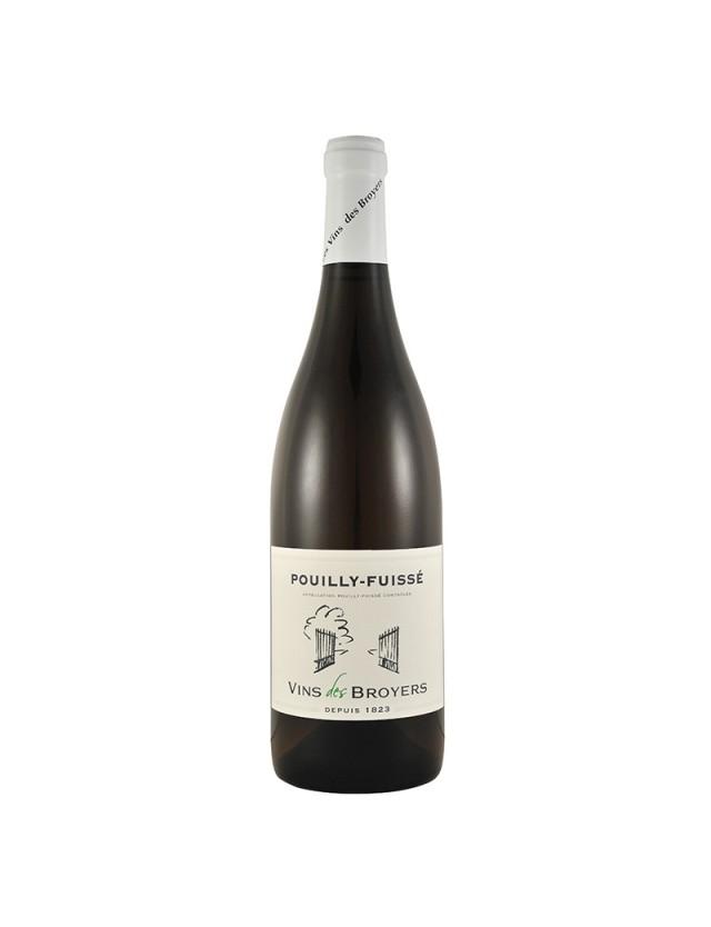 Pouilly Fuissé vins des broyers